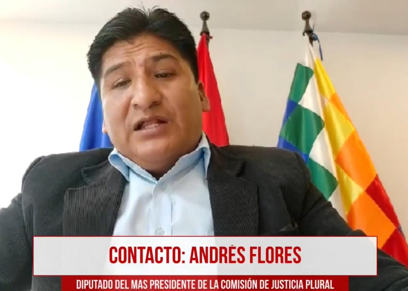 Diputado Flores asevera que Mesa fue vinculado al caso Quiborax por presuntamente firmar con una empresa extranjera