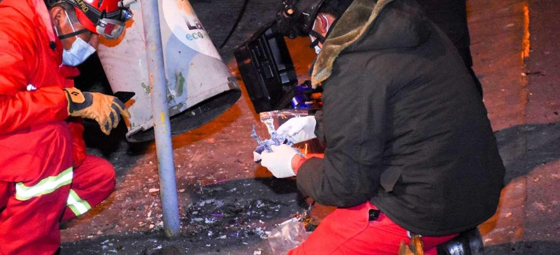 Arias condena la explosión en La Paz y exige que se esclarezca el hecho