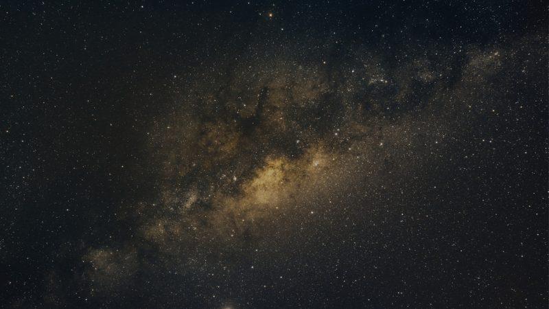 Científicos registran una señal emitida desde el centro de la Vía Láctea