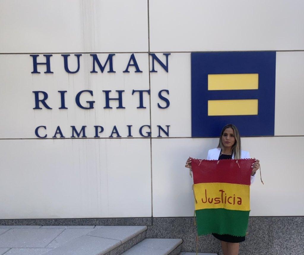 Ribera se reúne con HRW y denuncia ante organismos internacionales que la vida de Añez corre peligro