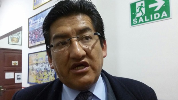 Jesús Vera asegura que es un perseguido político por la Alcaldía de La Paz debido a que fue reelegido representante de la FEJUVE