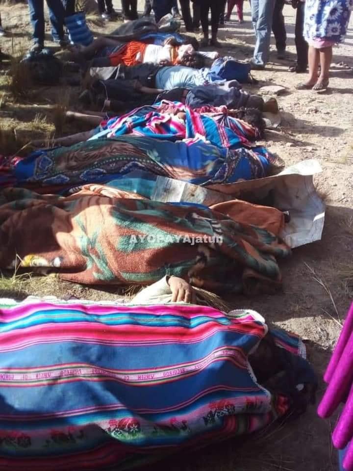 Fatal accidente de bus en Cochabamba deja al menos 21 fallecidos