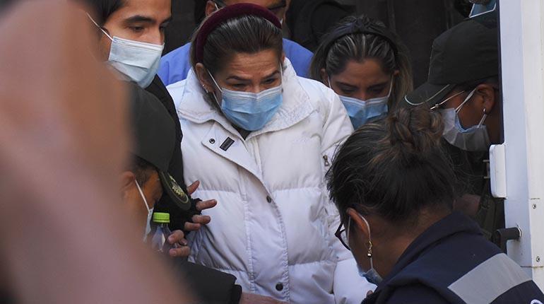 Nuevamente la Justicia niega la cesación a la detención preventiva de Jeanine Áñez.