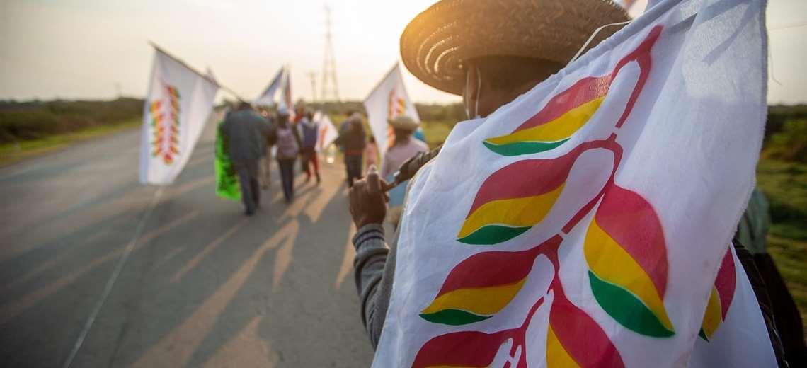 Gobierno desconoce peticiones de la marcha indígena del oriente, sospecha que tendría tintes políticos