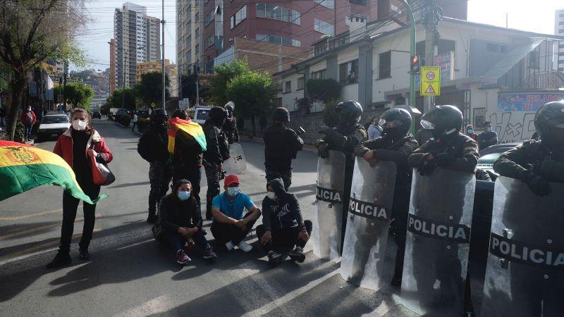Policía reporta alrededor de 151 puntos de bloqueo a nivel nacional durante el paro cívico