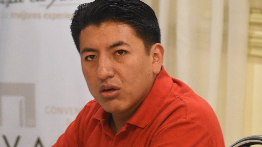 """Marco Pumari asegura que """"los azules están nerviosos"""" y califica de """"éxito"""" el paro cívico"""