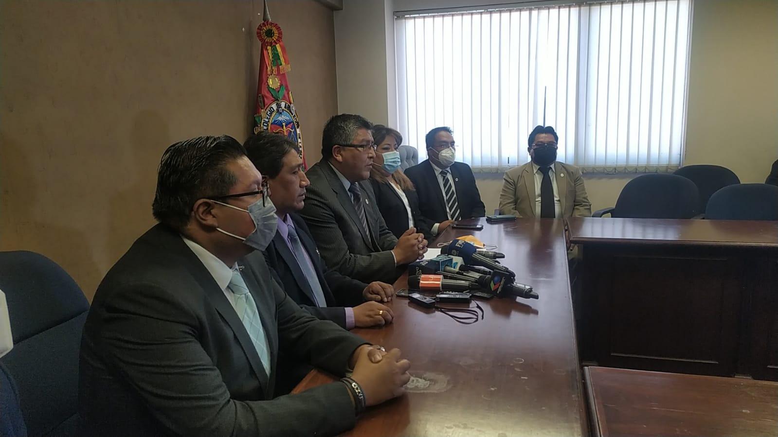 Colegio de Abogados pide que la ley Contra Legitimación de Ganancias Ilícitas sea consensuada