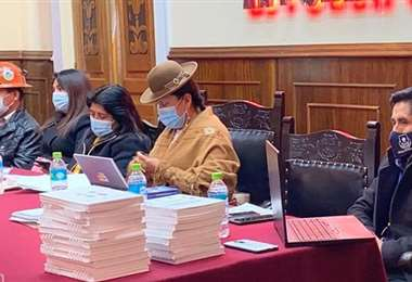 MAS considera que la ley Contra la Legitimación de Ganancias Ilícitas debe ser aprobada hasta el 15 de noviembre