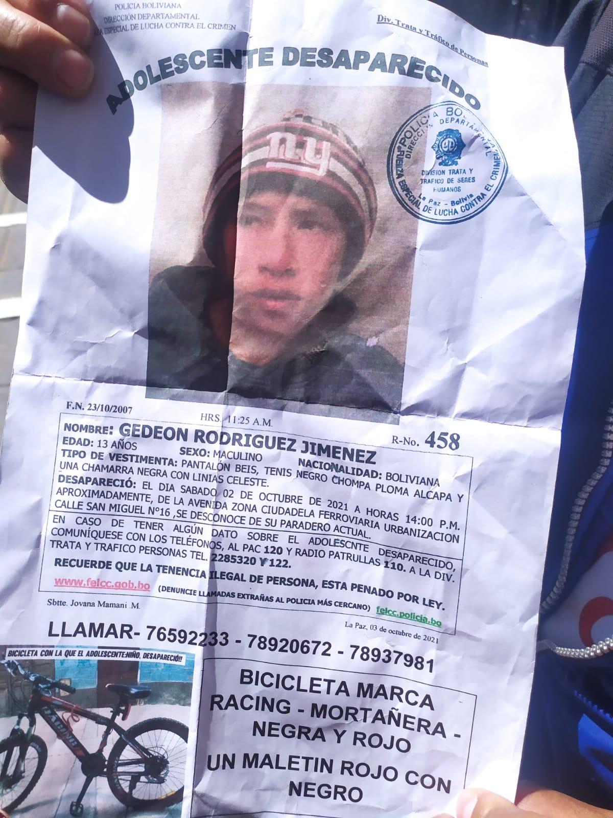 Padre busca a su hijo de 13 años que desapareció tras ser captado mediante el juego Free Fire