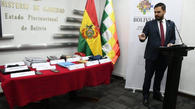 Del Castillo asevera que implicados del magnicidio en Haití estuvieron en Bolivia y afirma que su objetivo era Arce