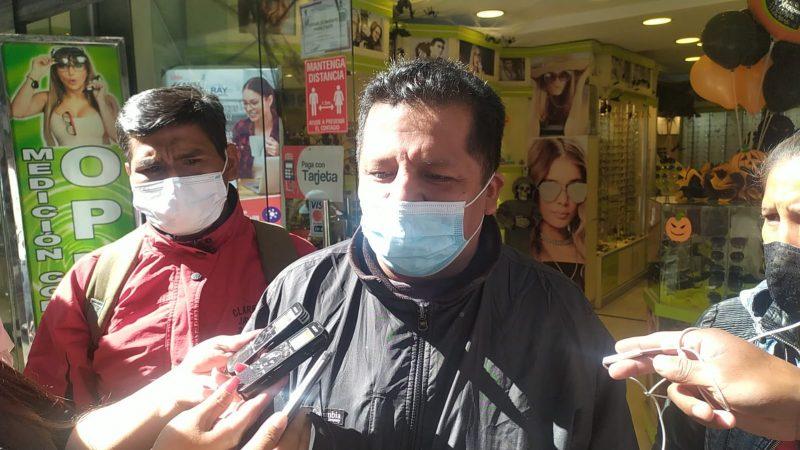 Suspenden la declaración de la dirigencia de Arnold Alanes por el robo de equipos de FM Bolivia