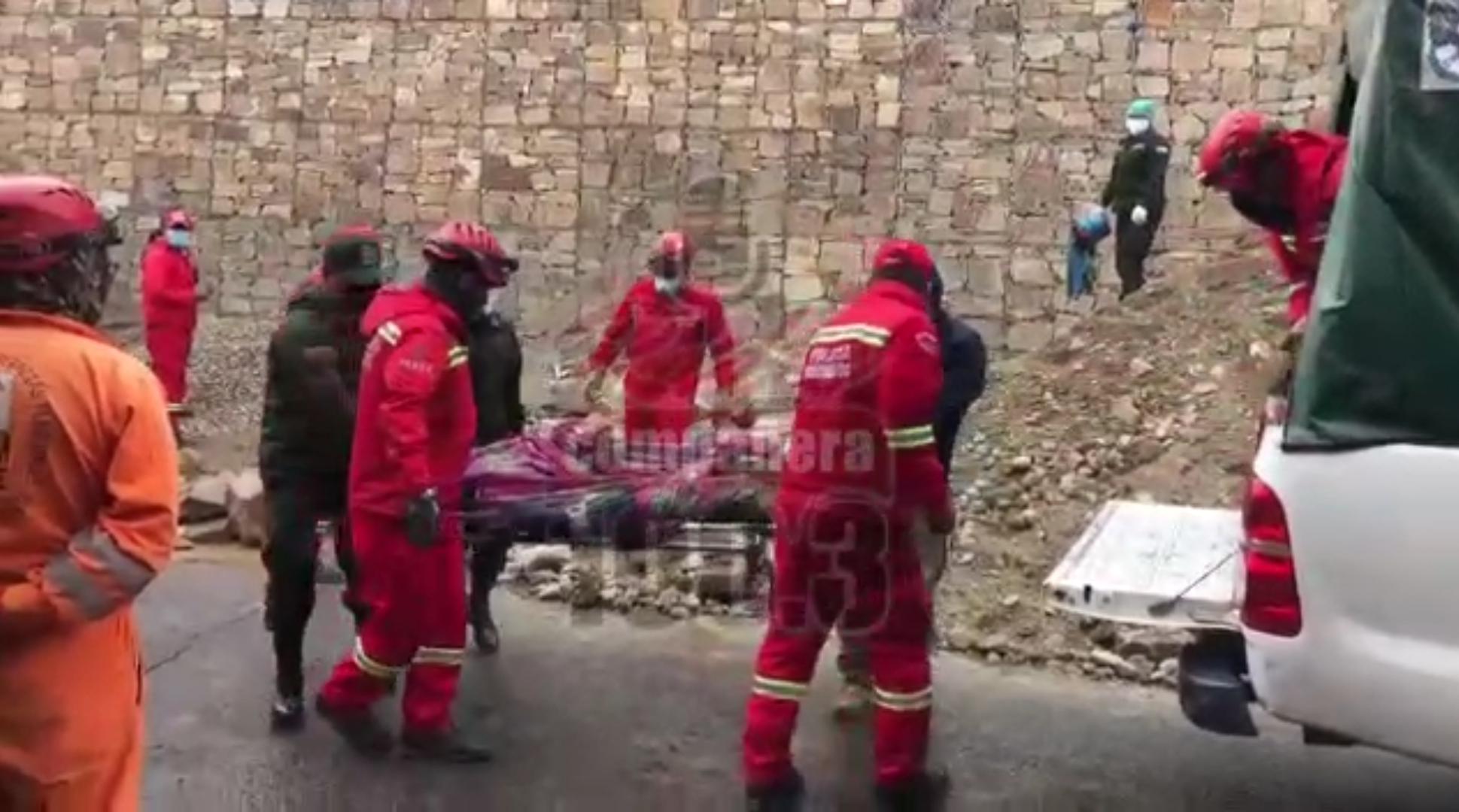 Confirman el fallecimiento de un segundo obrero tras un talud en Quintanilla Suazo