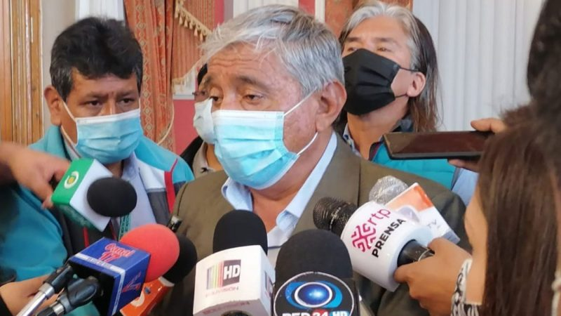 Arias pide al Gobierno evitar el enfrentamiento con sectores sociales que piden abrogar la ley 1386