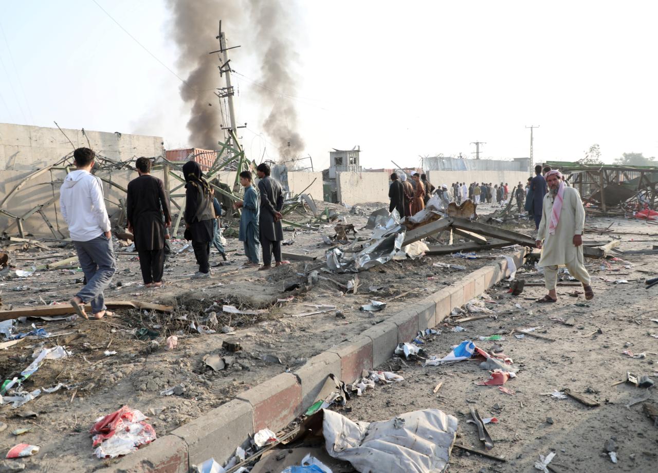 Atentado en Kabul deja al menos dos muertos en una explosión cerca de una mezquita