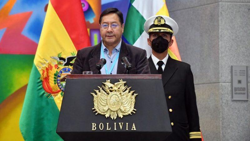 El presidente Arce promulgó la Ley de Registro de Comercio