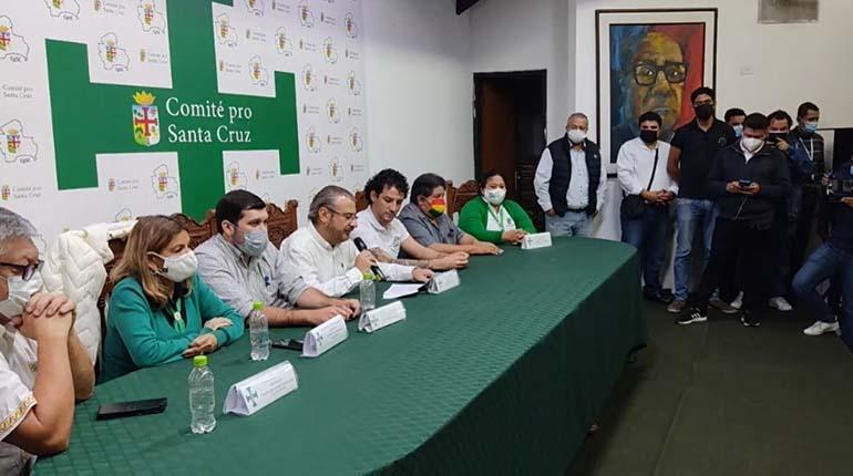 Cumbre de opositores exige el cese a la persecución política y ratifican marcha nacional para el 11 de octubre