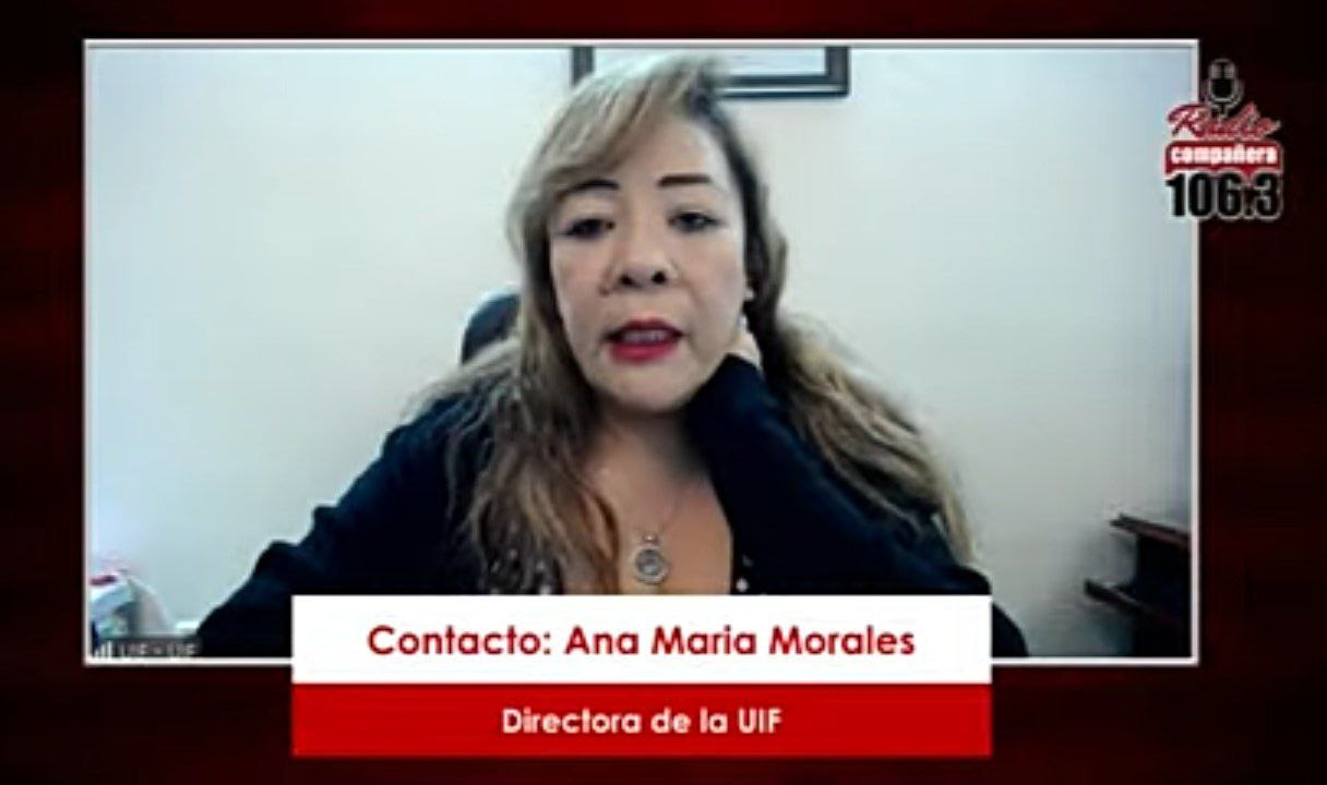"""Directora de la UIF asegura que Ley de Ganancias Ilícitas no persigue a nadie, solo a """"grandes delincuentes"""""""